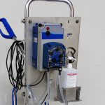Flexxomat dosing pump Flexxopump conduct 400x400 px -disinfection mat-