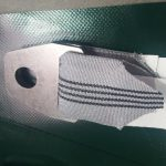 Dit is een dubbele bescherming die helpt tegen de slijtage van de witte lasbanden.